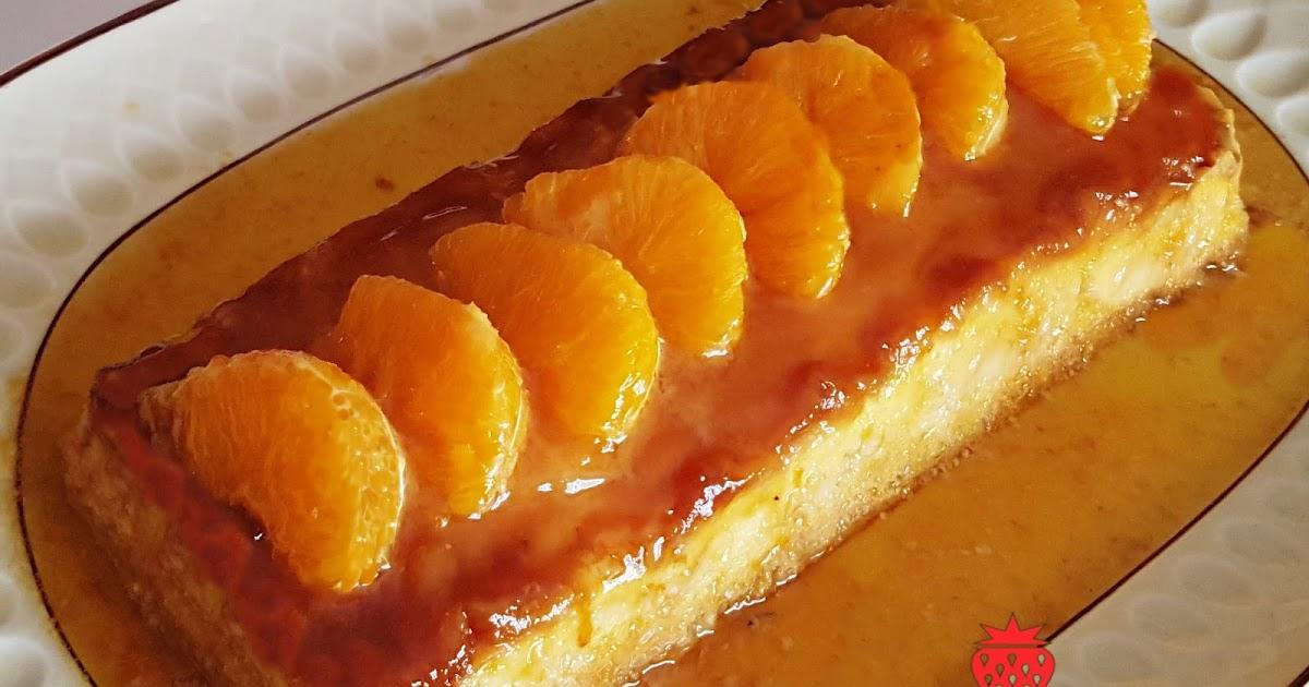 Las dulces tentaciones de marlen flan de mandarina y - Postre con mandarinas ...