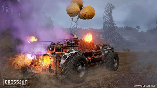 Video games: Crossout - Halloween 2018 event has started