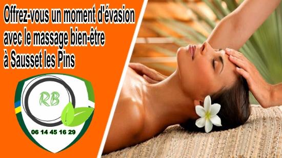 massage bien-être à Sausset les Pins;