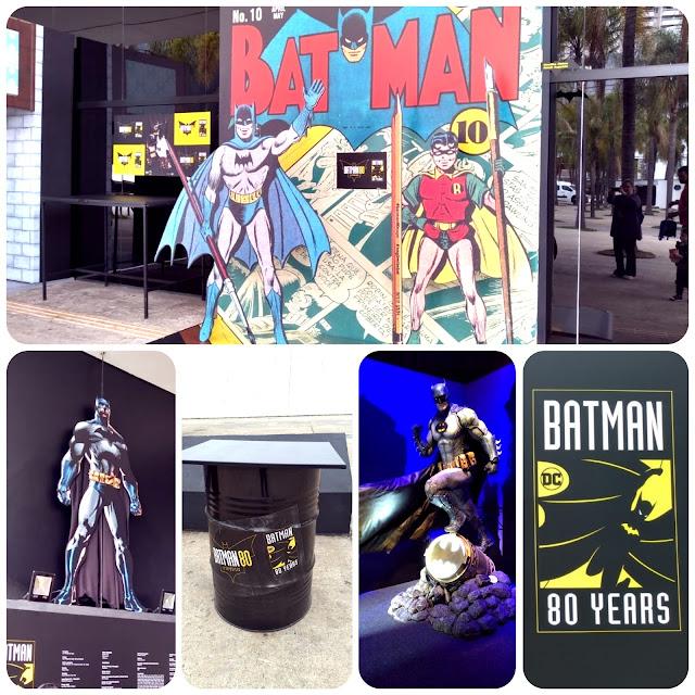 Batman 80 anos - a exposição