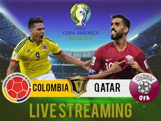 مشاهدة مباراة قطر وكولومبيا