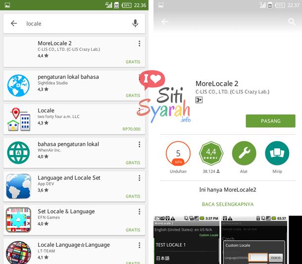 cara tambah bahasa indonesia di android