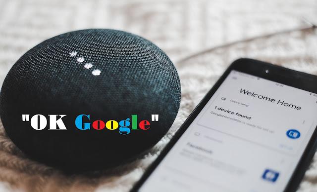 Google assistant voice command
