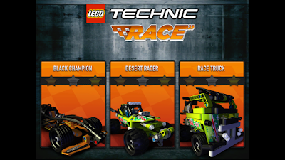 LEGO Pull-Back Racers