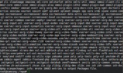 # dpkg-scanpackages . /dev/null | gzip -9c > Packages.gz
