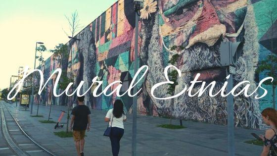 #5 Mural Etnias - Projeto 100 lugares em 1 ano