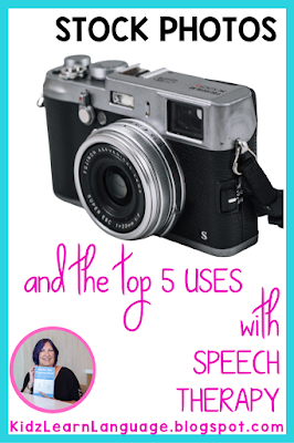 uses for stock photos in speech therapy