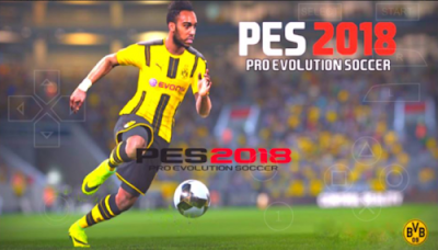 PES 2018 PPSSPP Android Terbaru Update Full Transfer Jogress Evolution