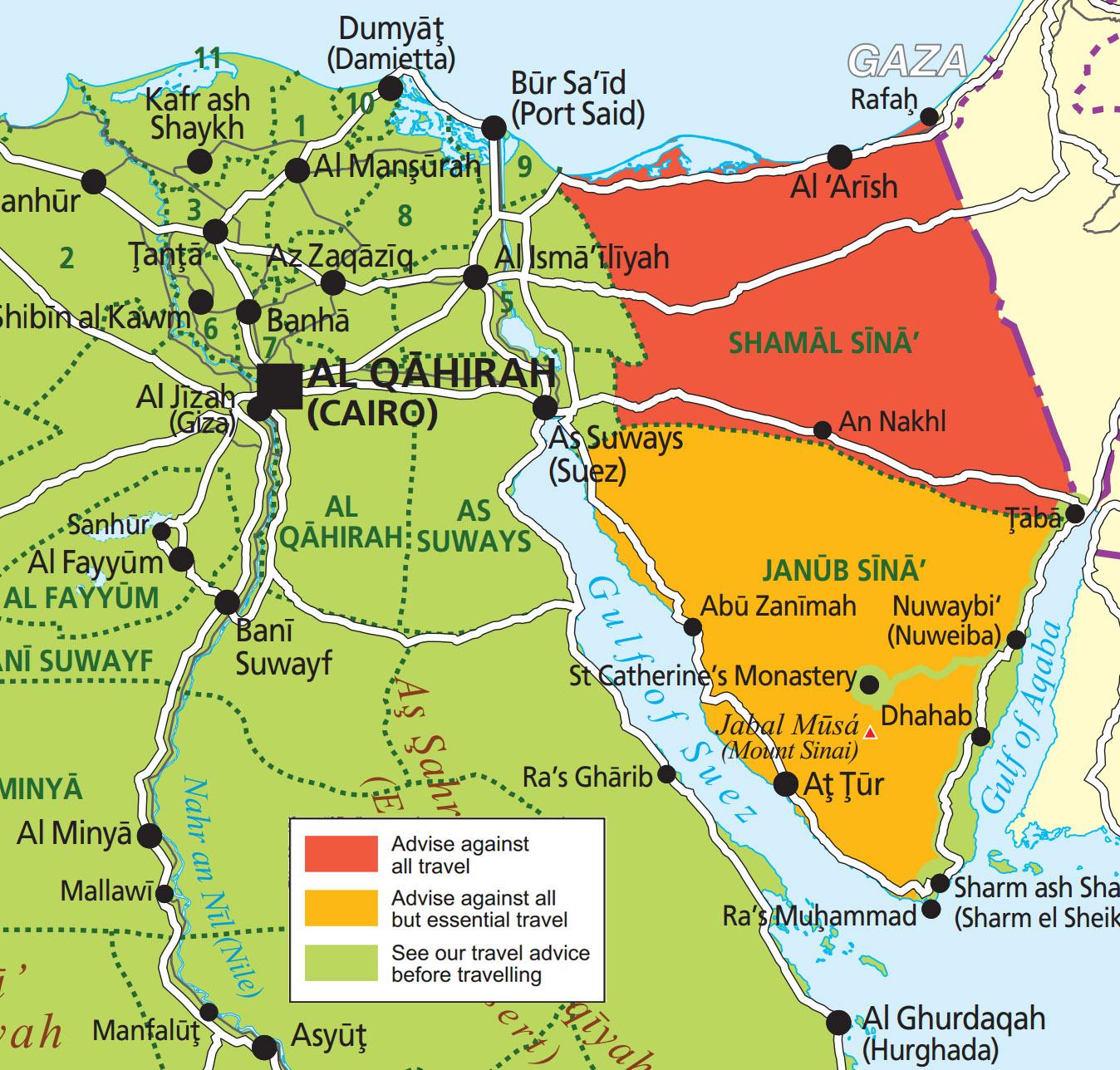 Ägypten Karte ~ Ägypten König