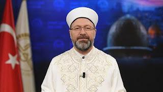 رئيس الشؤون الدينية في تركيا يوجه دعوة للتكبير في العيد من المنازل