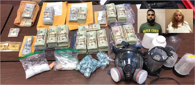 Un dominicano y su novia traficaban drogas a gran escala en Pensilvania  en medio de la pandemia