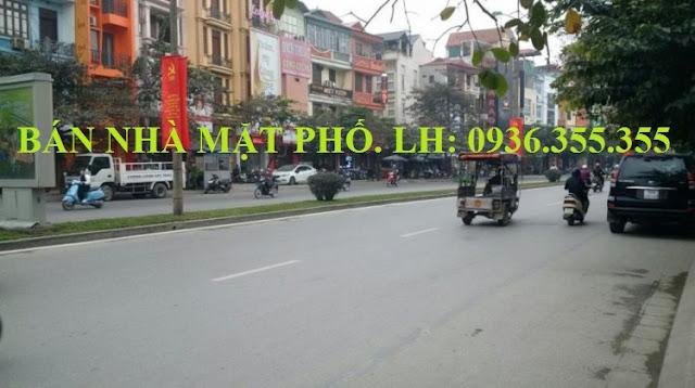 Bán nhà mặt phố Đào Tấn, Liễu Giai