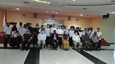 Jaya Kusuma Kukuhkan Pengurus NPC Kabupaten Indragiri Hulu