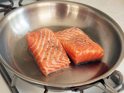 The best pan-fried salmon you'll ever have