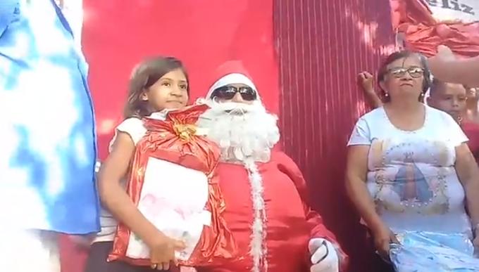 Natal dos Sonhos acontece na localidade do Córrego de Baixo