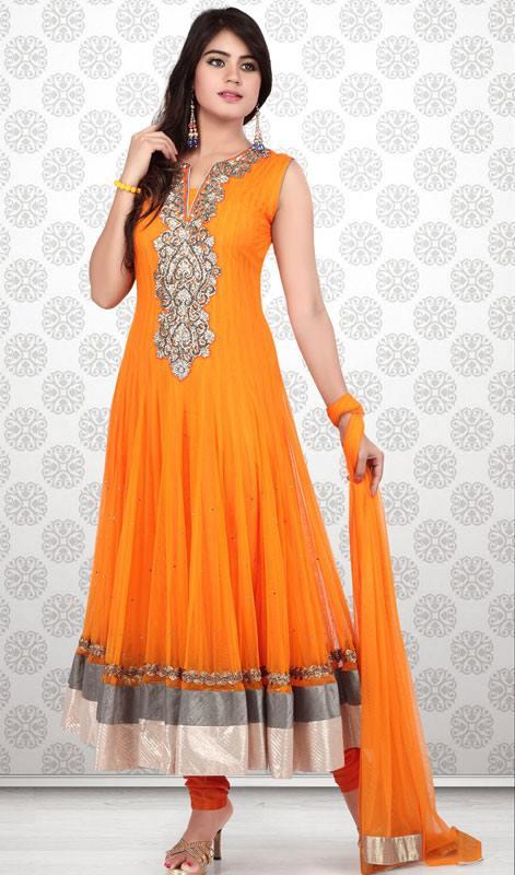 Women Fashion Girls Dress New Designs Salwar Kameez Churidar Outfits 2016 For Fashionable Ladies By Kaneesha