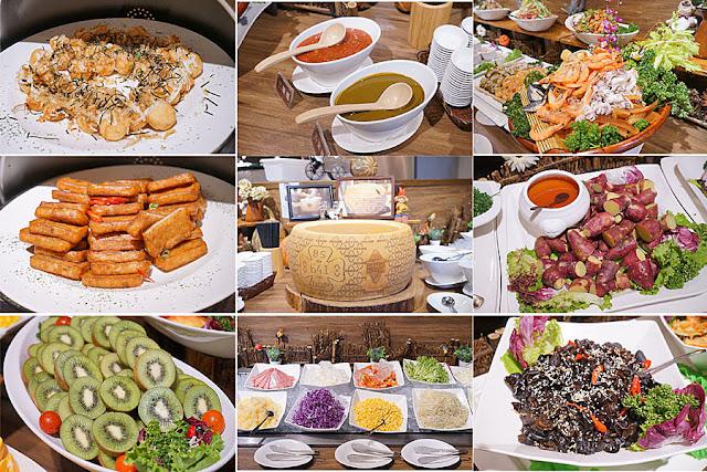 DSC09079 - 熱血採訪│台中吃到飽,公益路潘朵拉之宴平日中午自助吧吃到飽只要215元,平日經濟排餐240元起