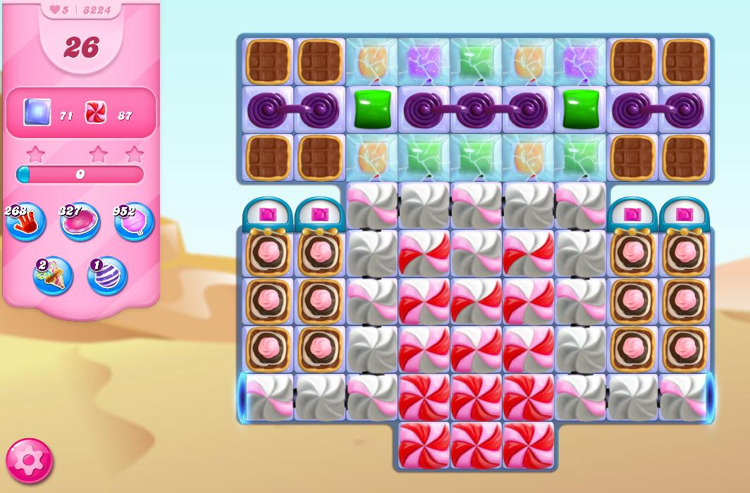 Candy Crush Saga level 8224