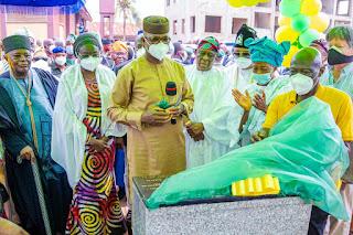 Ogun: Gov. Abiodun Commissions  City Centre Road In Abeokuta