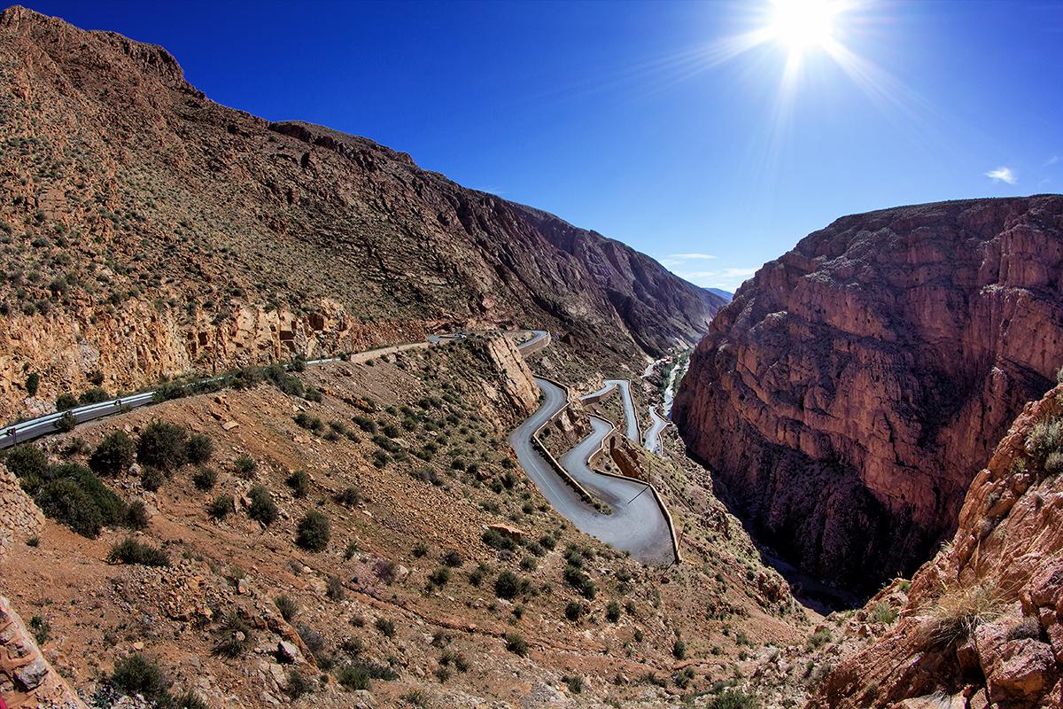 Maroko-Dolina Dades i przełęcz Ouano