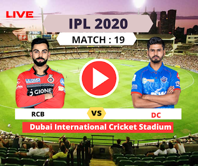 IPL 2020: Bangalore vs Delhi, 19th Match, Royal Challengers Bangalore have won the toss and have opted to field