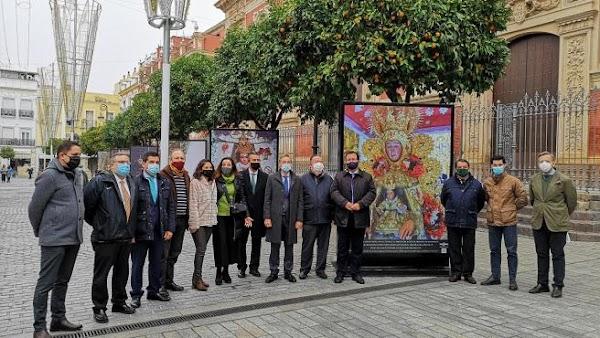 La Hermandad del Rocío de Sevilla organiza una exposición de fotos sobre la procesión de su virgen en diciembre