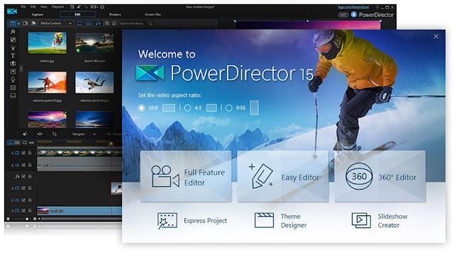 πρόγραμμα επεξεργασίας video-CyberLink PowerDirector 15 Ultimate
