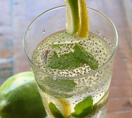 Chia Water Recipe To Purify Body & Reduce Fat #healthydrink #detox