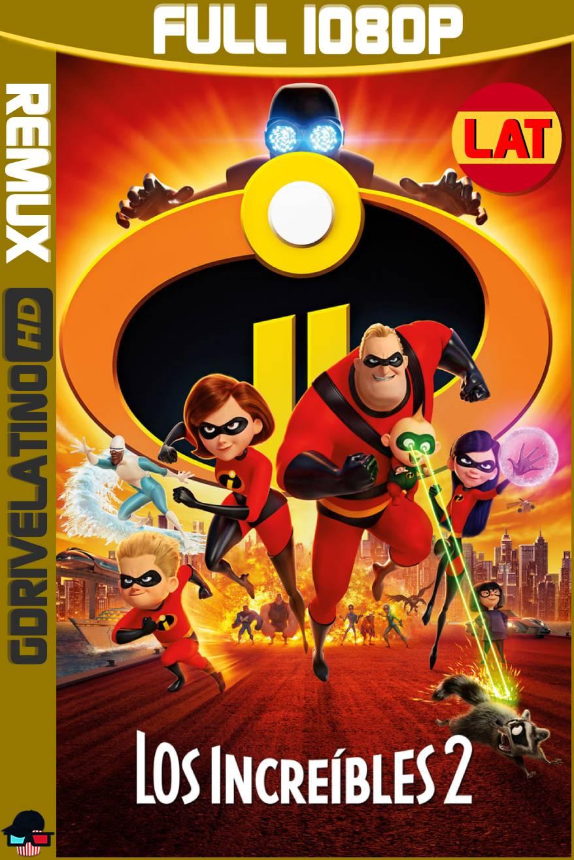 Los Increíbles 2 (2018) BDRemux 1080p Latino-Ingles MKV