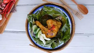 Resep Pepes Ayam Bumbu Rujak