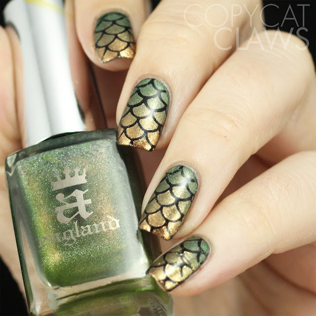 Whats Up Nails Scales Stencils