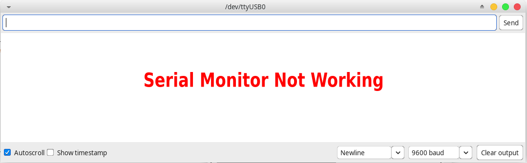 How To Fix Serial Monitor Arduino Not Working Linux