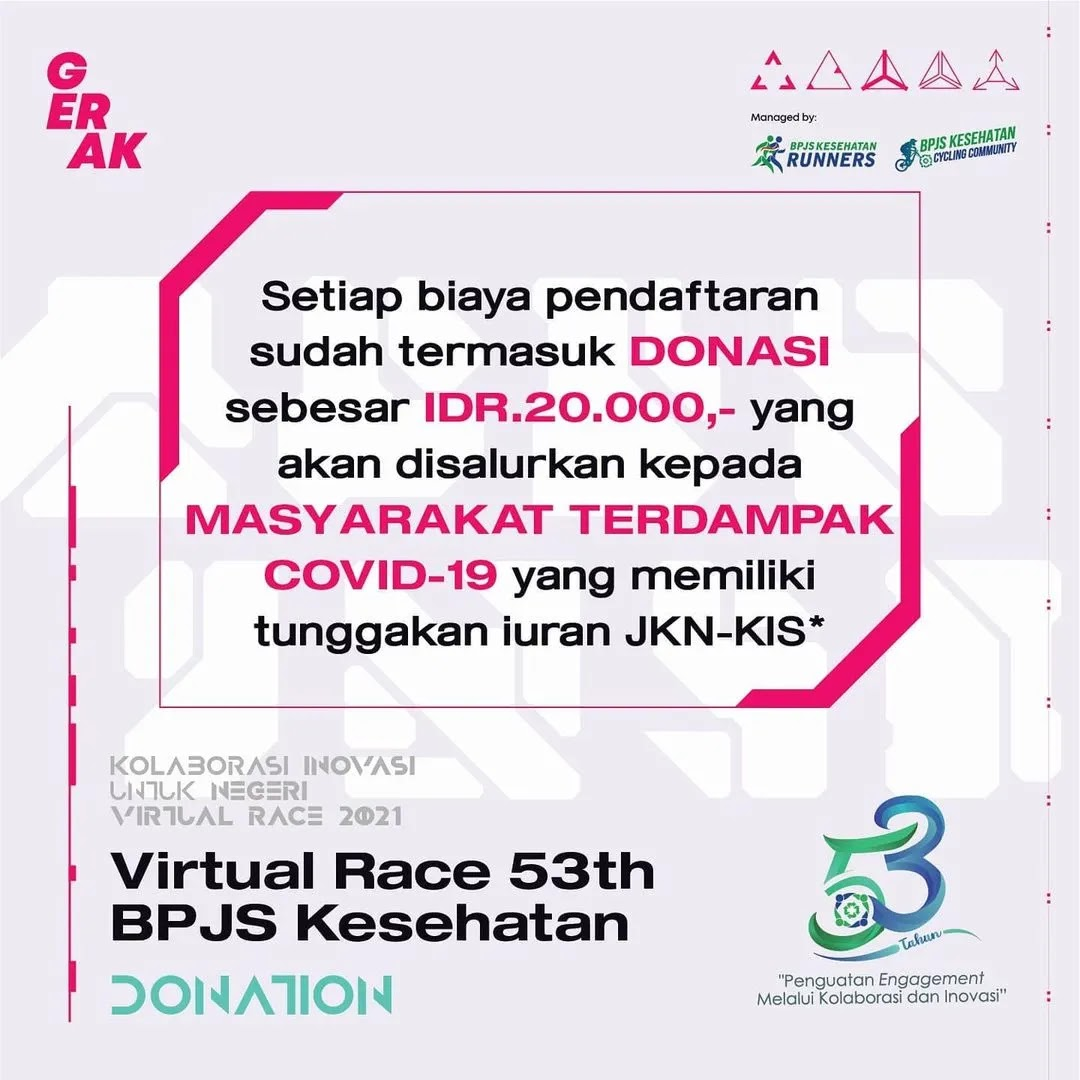 Togetherness BPJS Kesehatan Runners & Cycling Community  • 2021