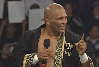 WCW Starrcade 1998 Review - Ernest 'The Cat' Miller faced Perry Saturn