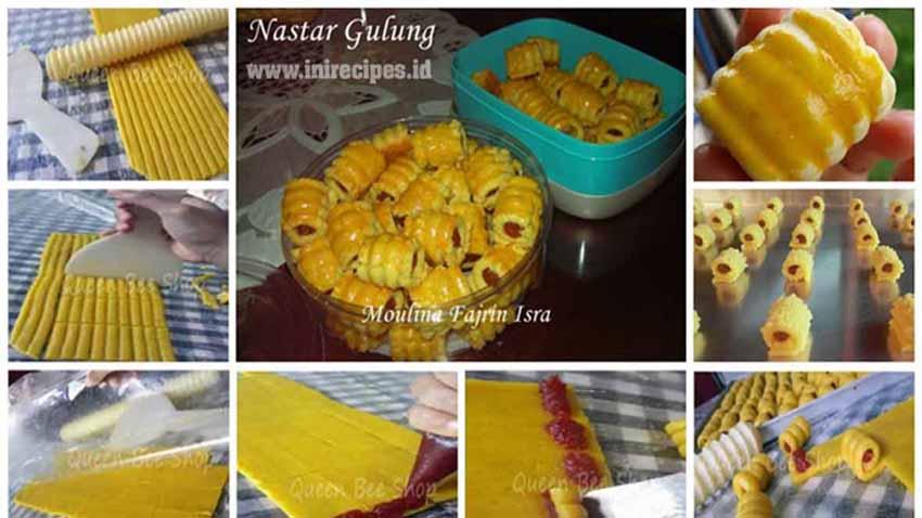 Resep Membuat Kue Nastar Gulung