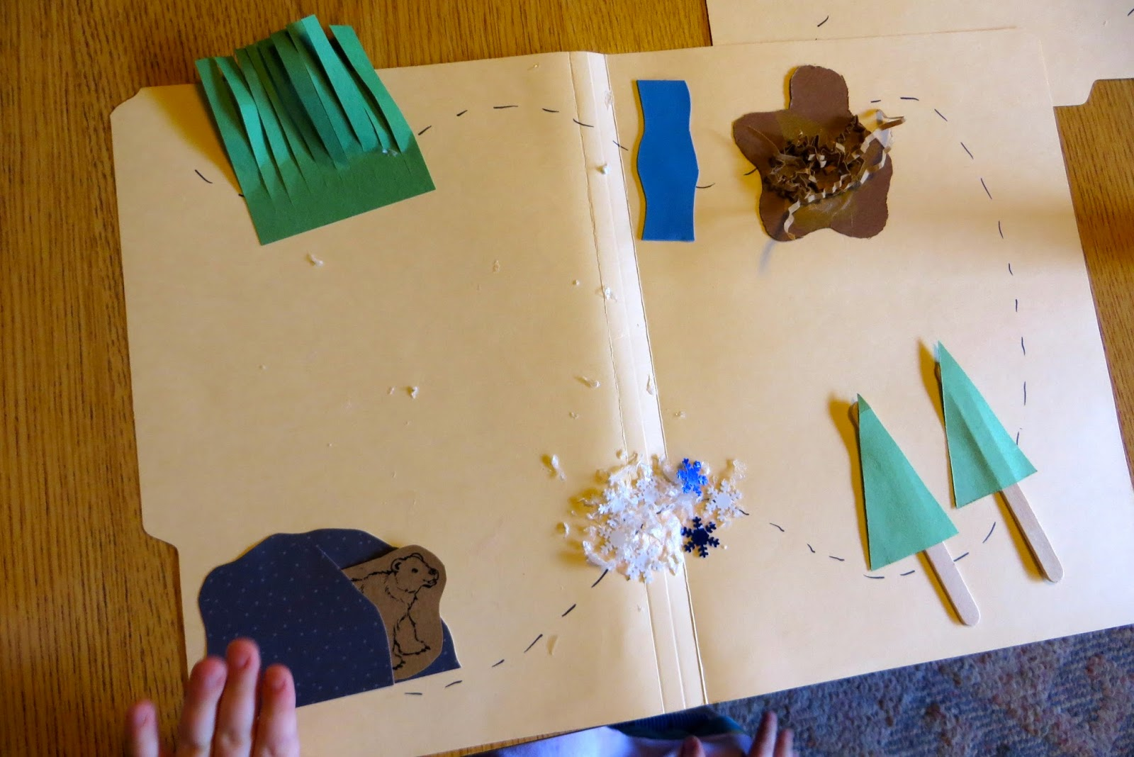 Ms Sara S Preschool Blog Going On A Bear Hunt