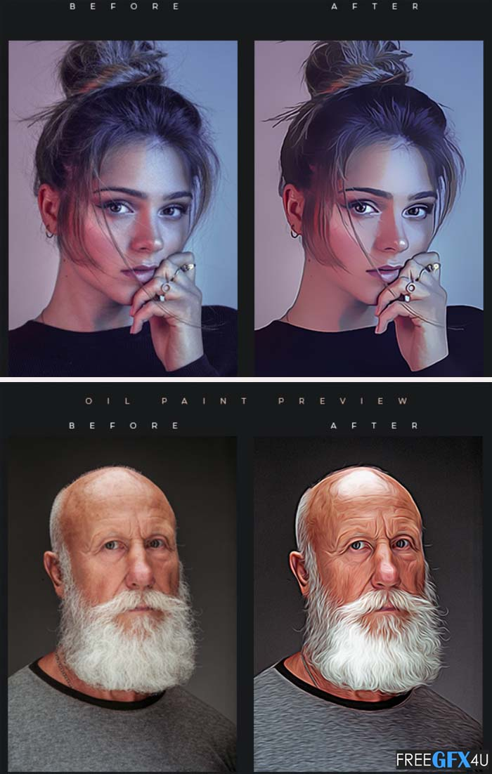 Painting Master Photoshop Actions