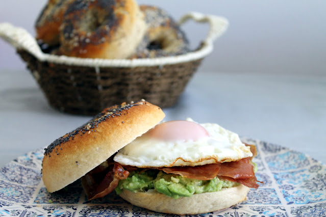 Bagels proteicos