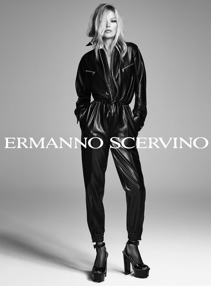 Ermmano Scervino Spring/Summer 2020 Campaign featuring Kate Moss
