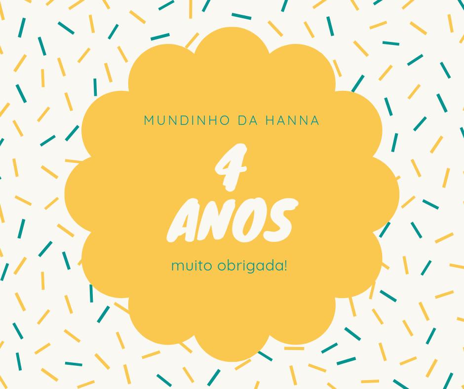 Aniversário do Mundinho da Hanna
