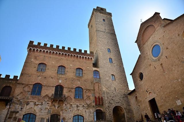 Palazzo Pubblico e Torre Grossa em San Gimignano