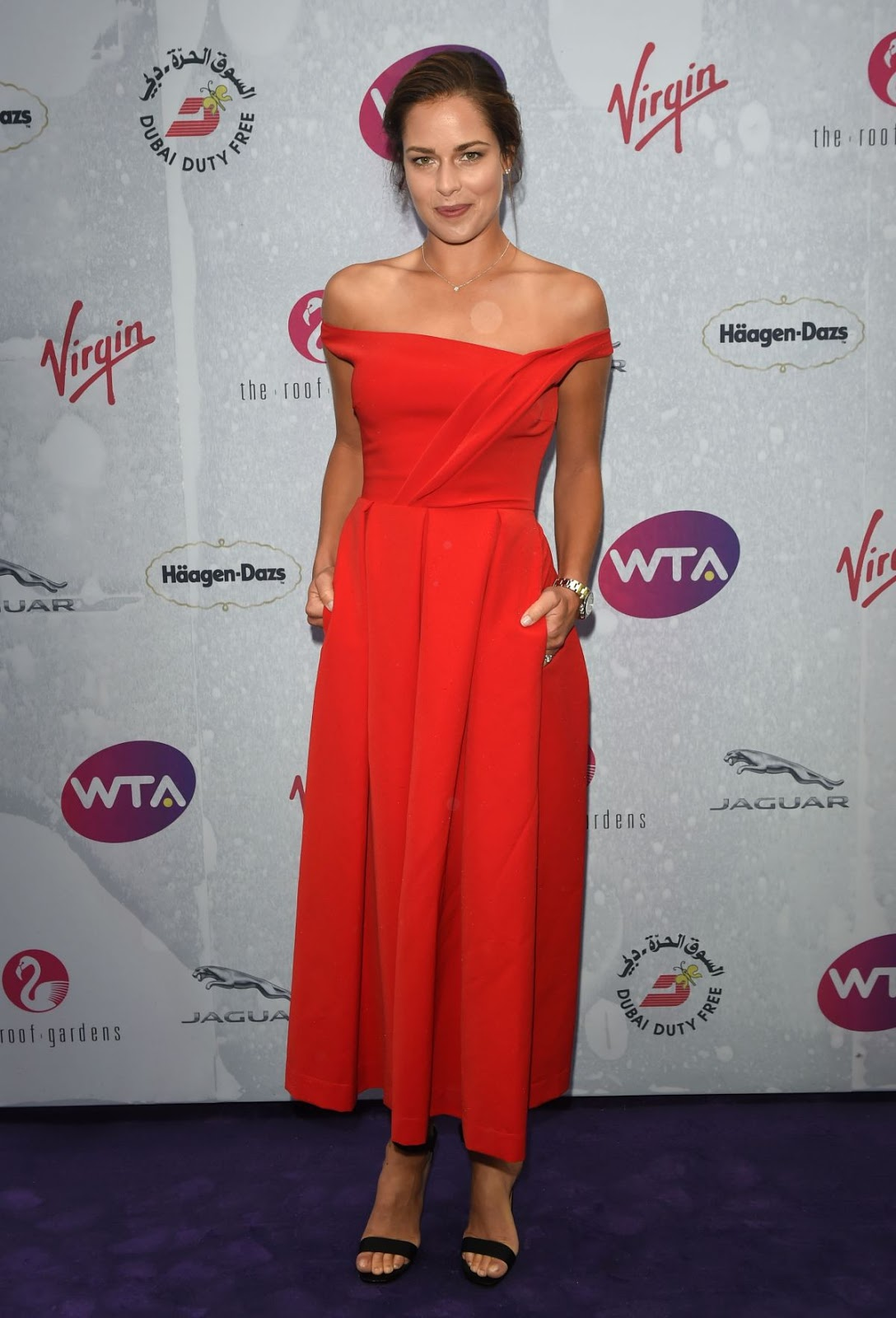 Ultra HD Images of Ana Ivanovic at WTA Pre Wimbledon Party in London