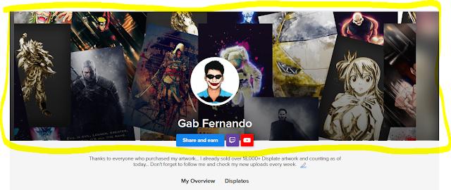 Gab Fernando cover photo on Displate