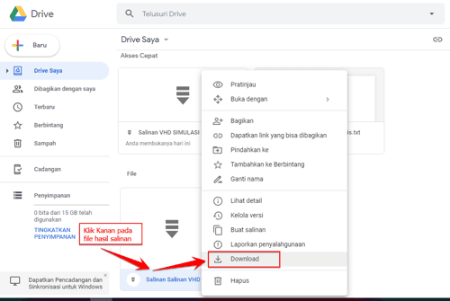Cara Mengatasi Limit Download Pada Google Drive 4