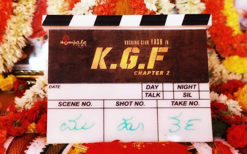 KGF Chapter 2 Shooting and Release Date Image