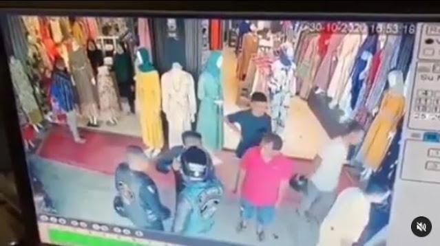 Terekam Kamera CCTV, Sisi Lain Geng Moge Keroyok Anggota TNI Mengejutkan