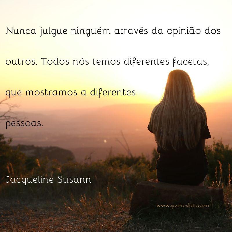 Pensamento de Jacqueline Susann