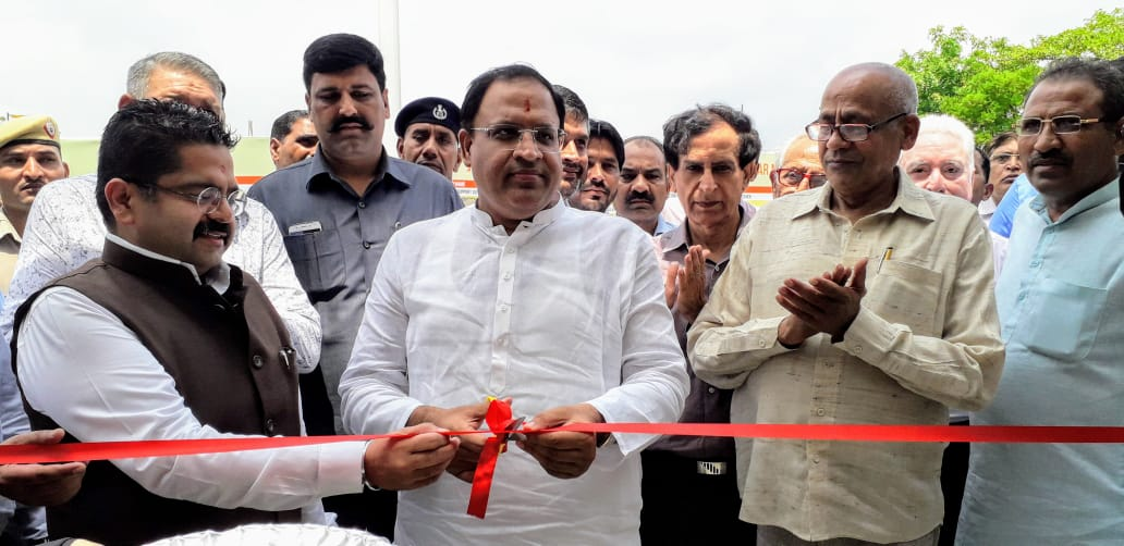 उद्योग मंत्री विपुल गोयल ने किया दो दिवसीय रोजगार मेले का उद्घाटन