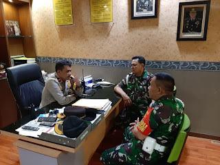 Bentuk Sinergitas TNI / POLRI Terjalin Dengan Baik