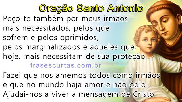 Oração de Santo Antonio